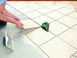 Укладка керамической плитки, а также мозаики и керамогранита