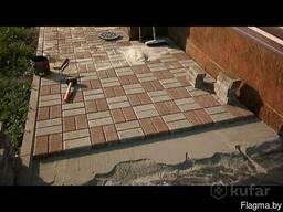 Укладка тротуарной плитки(любых видов) и гранита.