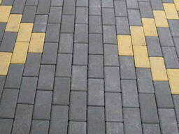 Укладка тротуарной плитки,