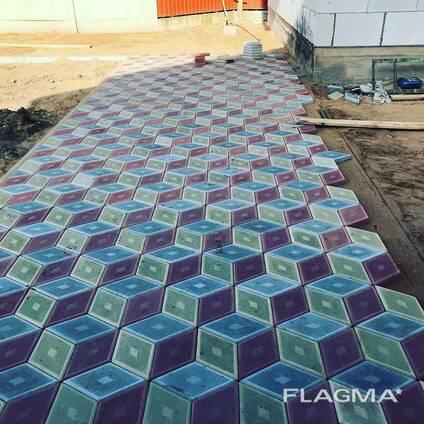 Укладка тротуарной плитки по городу Слуцк