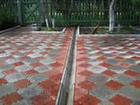 Укладка тротуарной плитки по городу Слуцк - фото 7