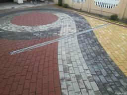 Укладка тротуарной плитки в Ганцевичах