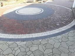 Укладка тротуарной плитки в Клецке
