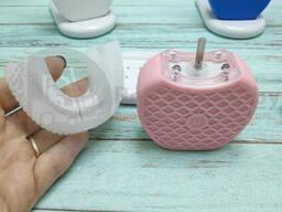 Ультразвуковая электрическая отбеливающая зубная щетка Toothbrush Cold Light Whitening. ..