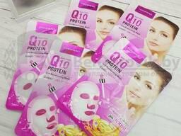 Уникальная тканевая маска для лица HanMiao, 30 гр С медом для сухой увядающей кожи. ..