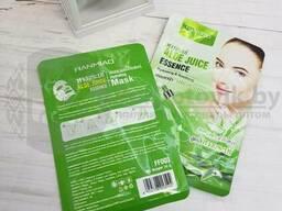 Уникальная тканевая маска для лица HanMiao, 30 гр Увлажняющая протеиновая Q10 HanMiao. ..