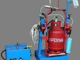 Универсальный пост для наполнения и слива газа из баллонов о - фото 1