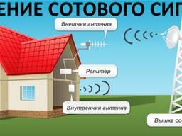 Усиление сигнала сотовой связи, в т. ч. 3G интернета