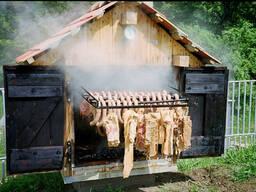 Услуга по копчению мяса, рыбы, птицы. Орша.
