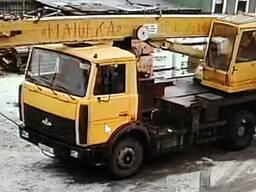Услуги автокрана, 16 тонн