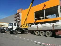 Услуги автокранов 16-25 тонн Мозырь, Калинковичи