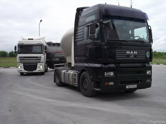 Услуги цементовоза, доставка цемента россыпью