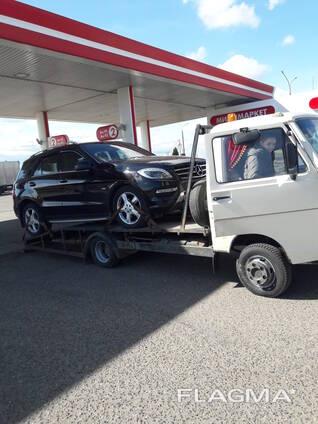 Услуги эвакуатора круглосуточно г. Воложин трасса М-6 М-7
