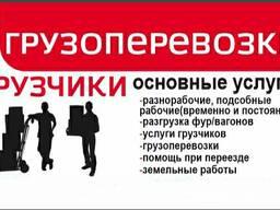 Услуги грузчиков, Грузоперевозки, Могилев