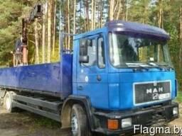 Услуги по грузоперевозке MAN с манипулятором—10 тонн - фото 2
