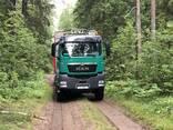 Услуги лесовоза MAN TGS 33.480, 6х6, полный привод - фото 1