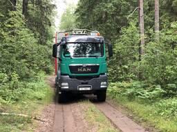 Услуги лесовоза MAN TGS 33. 480, 6х6, полный привод