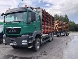 Услуги лесовоза MAN TGS 33.480, 6х6, полный привод - фото 2