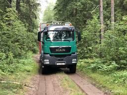 Услуги лесовоза-сортиментовоза MAN TGS 33. 480, 6х6, п