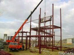Услуги по монтажу и демонтажу металлоконструкций