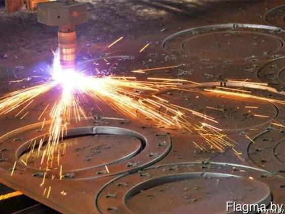Услуги по плазменной резке металла и листогибочных операциях