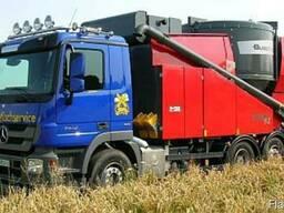 Услуги по размолу зерна мобильными установками Buschhoff.