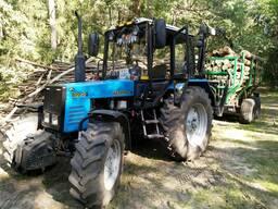 Услуги по Трелевке леса лесовозной тележкой