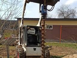 Услуги по земельным работам мини-эксковатора и мини-погрузчи