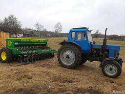 Услуги посева зерновых, зернобобовых и мелкосемянных культур