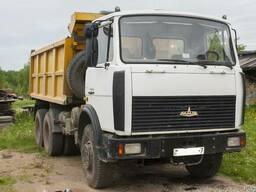 Услуги самосвала МАЗ 5516 20 тонн