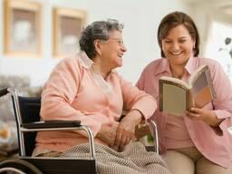 Услуги сиделки лежачему больному, для пожилого. Сиделка в больницу и на дому, с проживание