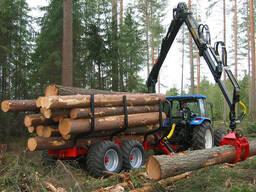 Услуги заготовки и трелевки лесоматериалов