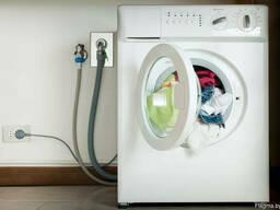 Установка и подключение стиральной или посудомоечной машины