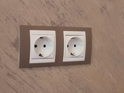 Установка, замена розеток и выключателей в Гродно