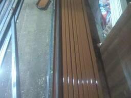 Утановка заборов и ограждений из сетки рабицы,металлопрофиля