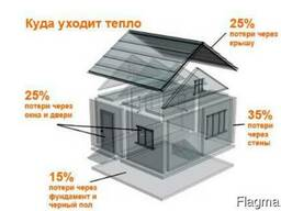 Утепление домов, коттеджей, балконов, террас Воложин и рн