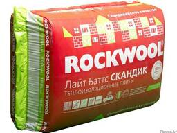 Утеплитель Rockwoll Лайт Баттс Скандик 800х600 (1уп/0,288м3)