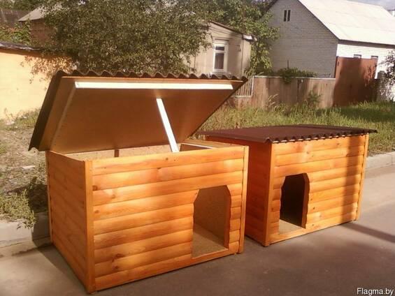Утеплённая будка для питомцев