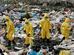 Утилизация мусора любого типа сложности. Очистка территории