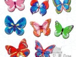 Вафельные бабочки 10шт