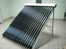Вакуумный солнечный коллектор 15 трубок для любого типа крыш