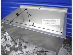 Ванна котломоечная сварная, 1000х700х860мм ( гл мойки 490мм)