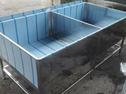 Ванна-котломойка из нержавеющей стали
