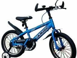 """Велосипед детский Amigo-001 Mustang 16"""" Синий"""