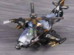 Вертолет военный. Игрушка
