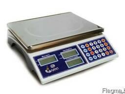 Весы торговые электронные без стойки