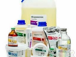 Ветеринарные препараты, комбикорма, кормовые добавки
