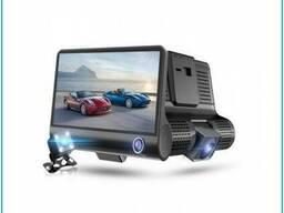Видеорегистратор с тремя видеокамерами