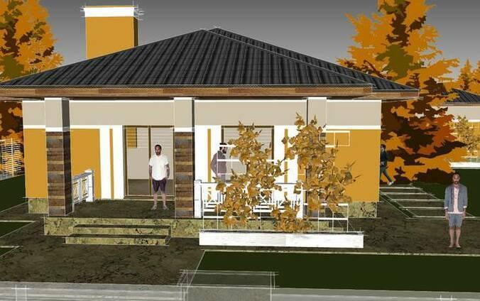 Визуализация, дизайн фасада, подбор материалов, дизайнер
