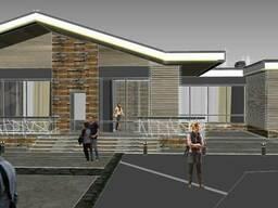 Визуализация, дизайн фасада, подбор материалов, дизайнер - фото 3